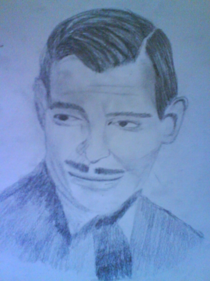 Clark Gable by einsteina